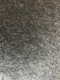 (VI-015) Vilt lapje - wollig donkergrijs