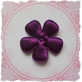 (BLE-070) Bloem - satijn - paars - 47mm