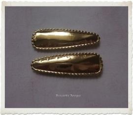(HOe-021) 2 hoesjes - goud - 55mm