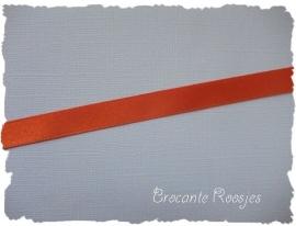(SA-033) Satijn lint - oranje - 10mm