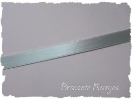 (SA-034) Satijn lint -  zilver grijs - 10mm