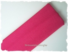 Haarband - stretch stof - fuchsia
