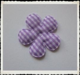 (BLr-016) geruite bloem - lila - 35mm