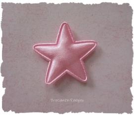 (Ster-021) Ster - licht roze - 25mm