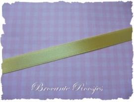 (SA-031) Satijn lint - geel - 10mm