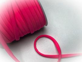 (IB-001) Elastisch Ibiza band - neon roze