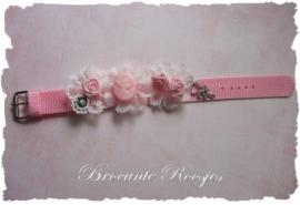 (Ar-002) Armbandje - roze