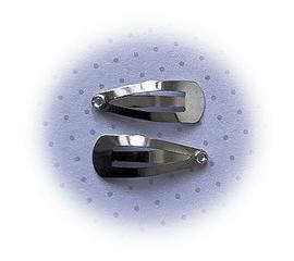 (HAba-007) 2 mini klik-klak haarspeldjes - 2cm*