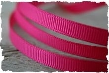 (GG-004) Grosgrain band - fuchsia - 10mm
