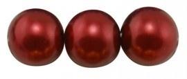 (Gp-016) Glasparel - diep rood - 12mm