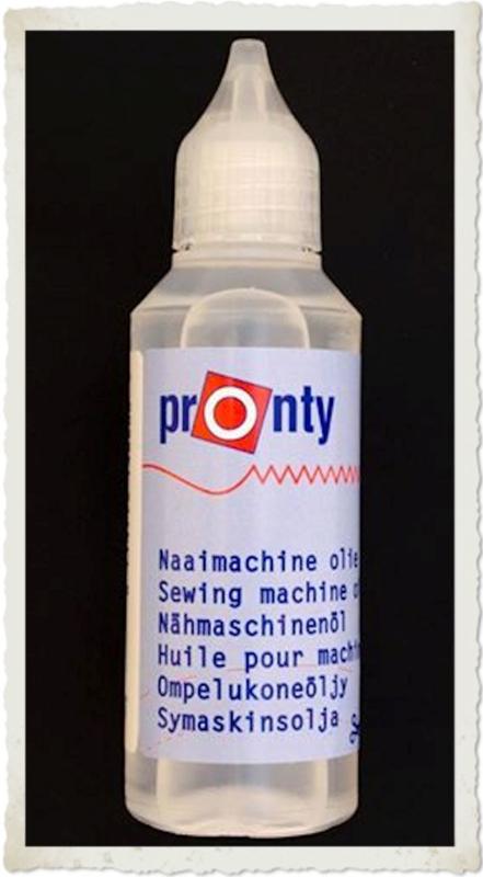 (DIV-003) Pronty naaimachine olie - flesje 50ml