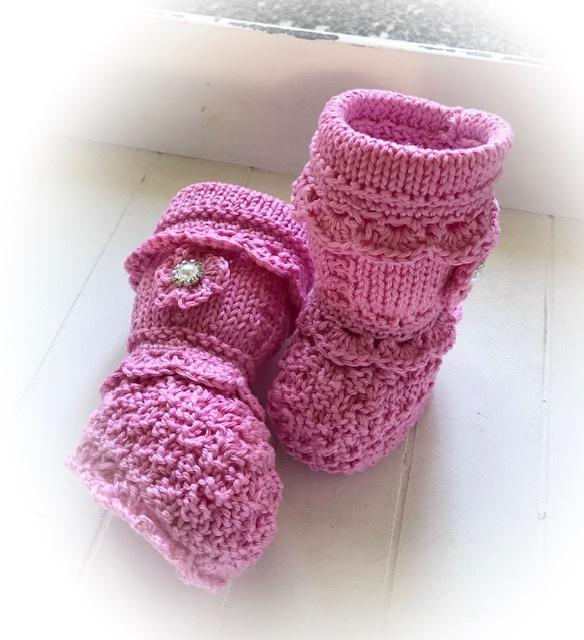 Babybooties - roze
