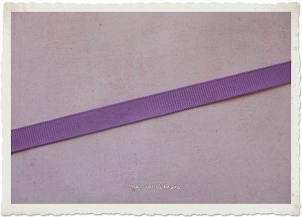 (GG-007) Grosgrainband - lavendel - 10mm