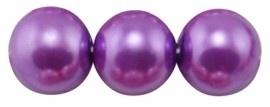 (Gp-015) Glasparel - paars - 12mm