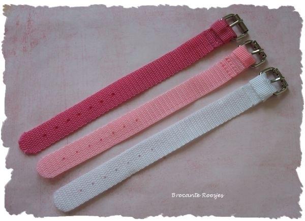 (Ar-003) Armbandje - fuchsia