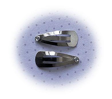 (HAba-006) 2 mini klik-klak haarspeldjes - 2cm*