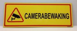 Sticker 'CAMERABEWAKING' - Art.nr. EF081S