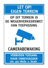 Bord - EIGEN TERREIN - Art. nr. EF105