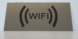 RVS bordje logo WiFi 1