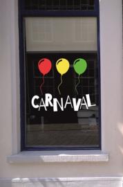 Carnaval Stickers - Set 5 HERBRUIKBAAR