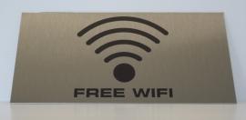 RVS bordje logo WiFi 5
