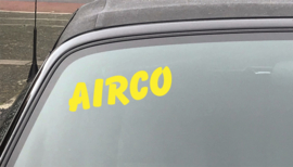 AUTOMOTIVE STICKERS 10 - SET VAN 5X TEKST 'AIRCO'