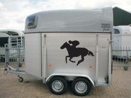 Set van twee paardenstickers 1