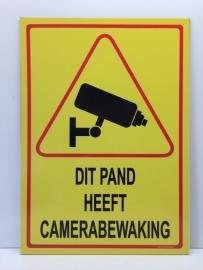 Sticker ' DIT PAND HEEFT CAMERABEWAKING' - GROOT - Art.nr. EF086S