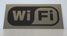 RVS bordje logo WiFi 2