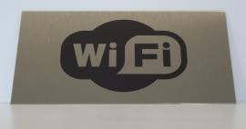 RVS bordje logo WiFi 3