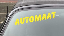 AUTOMOTIVE STICKERS 5 - SET VAN 5X TEKST 'AUTOMAAT'