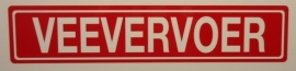 VEEVERVOER STICKERS