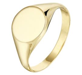 Stijlvolle Gouden Dames Zegelring | Kies je eigen letter