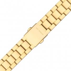 MY iMenso Quartz Gepolijste Horlogeband / Goud