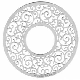 Zilveren Ornament Fusion Munt 24-1193 / 33-1193
