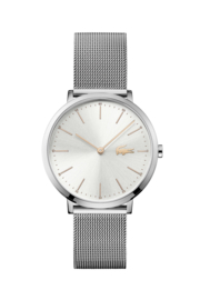 Lacoste Zilverkleurig Dames Horloge met Milanese Horlogeband