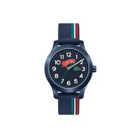 Lacoste Blauw Kids Horloge met Blauwe Siliconen Horlogeband