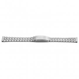Horlogeband YD05 Schakelband Edelstaal 14x12mm