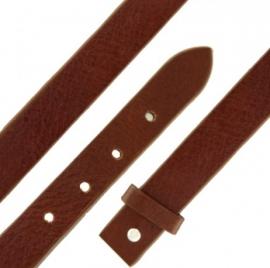 Bruine Leren Armband / MY iMenso Slide-on 27-1168
