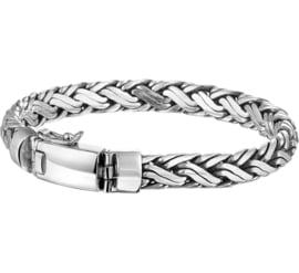 Vossestaart / Palmier 8 mm Zilveren Armband