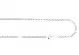 Names4ever Zilveren ketting 38-42 cm ZCV01