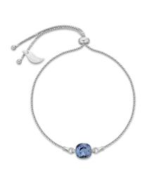 Glaskristal Armband van Spark Jewelry met Donkerblauw Glaskristal