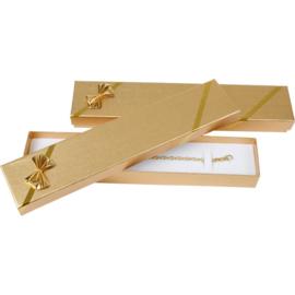 Goudkleurige Cadeauverpakking voor Armbanden