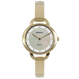 Klassiek Edelstalen Goudkleurig Dames Horloge