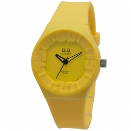 Q&Q geel kunststof horloge