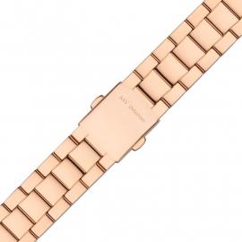 MY iMenso Quartz Gepolijste Horlogeband / Roségoudkleurig
