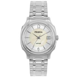 Prisma Dames Horloge met Parelmoer Wijzerplaat