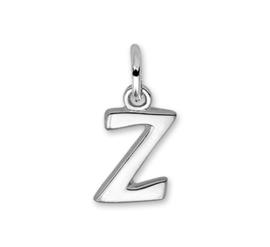 Gepolijste Zilveren Letter Bedel – Z