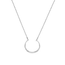 Tommy Hilfiger Zendaya Zilverkleurig Collier met Cirkelvormige Hanger TJ2780282