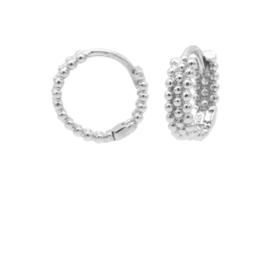 Zilveren Oorringen met Bolletjes | Karma Jewelry